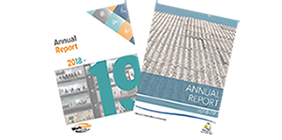 covers of annual reports